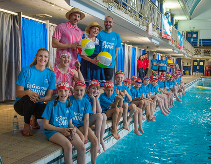 Big school swim 2017 swimstars for Mark morris high school swimming pool