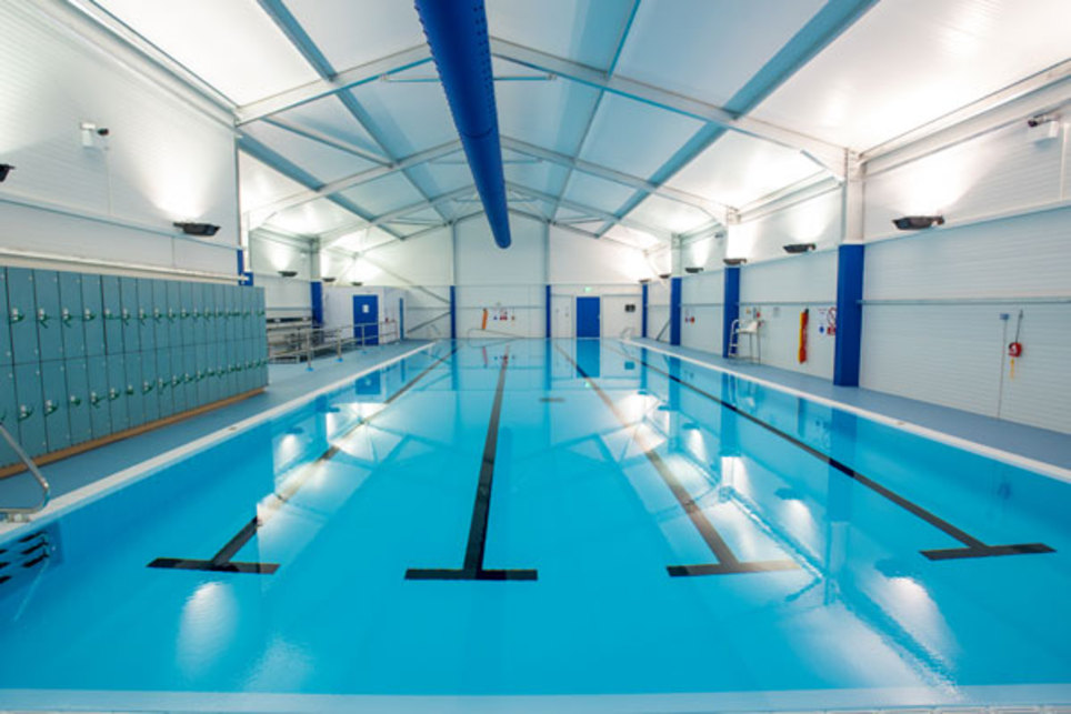 Radcliffe 25m Modular Pool Project | Total Swimming
