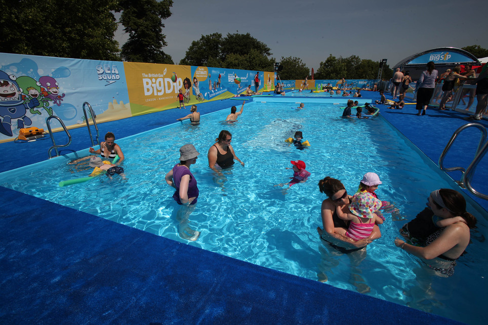 The Big Dip Total Swimming